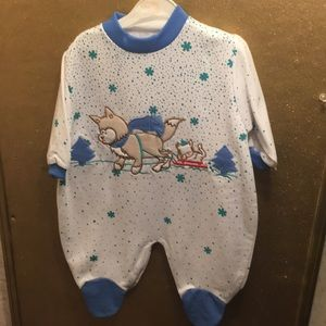 friemanit One Pieces - NWT sz 6 mths wolf coverall by friemanit